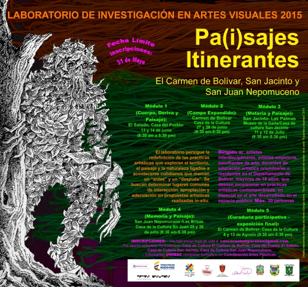 cartel laboratorio Bolívar 2015